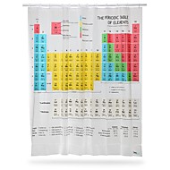 Periodiek Systeem der Elementen Shower Curtain