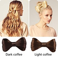5 Colors Classic BowKnot Clip-in Wig Hair Accessories Europen Style