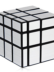 Shengshou® Magic Cube 3*3*3 Mirror Smooth Speed Cube Black / Silver ABS Toys