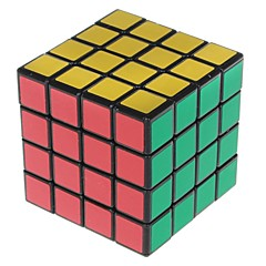 Shengshou® Smooth Speed Cube 4*4*4 Speed / Professional Level Magic Cube Black Scrub Sticker Anti-pop / Adjustable spring PVC / ABS