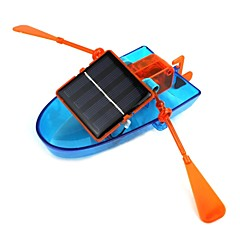 Solar Powered Canoe Assembly DIY Ship Toy