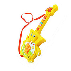 Elephant Shape Music Toy Plastic Red / Yellow