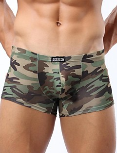 Men's Nylon Boxer Briefs