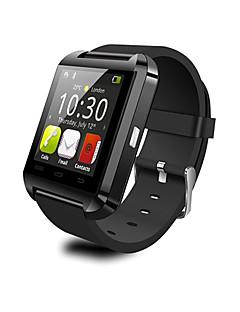 웨어러블 - 스마트 시계 - 블루투스 3.0 - 핸즈프리 콜 / 메세지 컨트롤 / 카메라 컨트롤 - 액티비티 트렉커 / 스톱워치 / 알람시계 / 타이머 - 용 - iOS / Android
