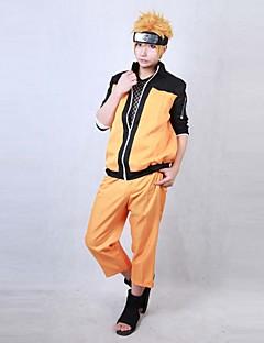 Shippuden Naruto Uzumaki Cosplay Costume