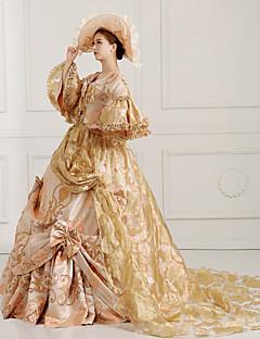 6a8a7f380a08 Et-Stykke Kjoler Klassisk og Traditionel Lolita Steampunk® Victoriansk  Cosplay Lolita Kjoler Gylden