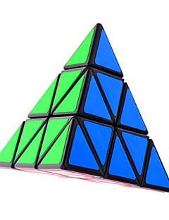 Shengshou® Magic Cube Pyraminx / Alien Smooth Speed Cube Black Plastic Toys