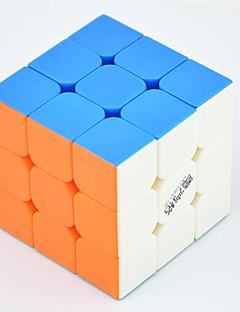 Qiyi® Magic Cube 3*3*3 Speed / Professional Level Smooth Speed Cube Rainbow Warrior Anti-pop / Adjustable spring ABS Toys