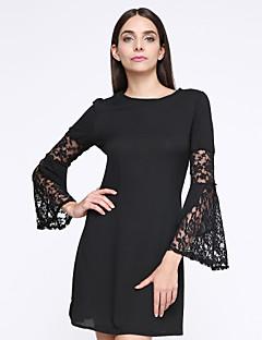 635a93cb7de0 Γυναικεία Φόρεμα Σέξι / Κομψό στυλ street Φαρδιά Μονόχρωμο Πάνω από το  Γόνατο Στρογγυλή Λαιμόκοψη Βαμβάκι