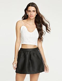 912a7032cad3 Γυναικεία Αμάνικη Μπλούζα Καθημερινά Απλό Μονόχρωμο